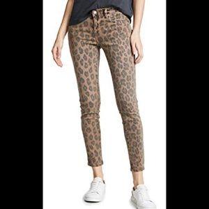 NWOT BlankNYC leopard skinny, size 28